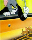 Tom and Jerry in the piano